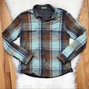 Toad & Co Flannel Button Jacket S